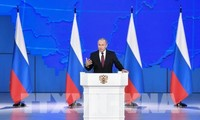 Vladimir Putin's Nation Address focuses on improving people's life, promoting dialogues