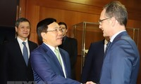 German FM hails visit by Vietnamese Deputy Prime Minister