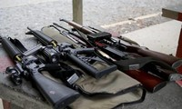 New Zealanders give up guns after massacre