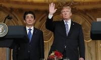 Japanese, US leaders hold talks