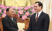 Top Cambodian legislator visits Ha Nam province