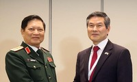 Defense Minister promotes defense cooperation in Shangri-La Dialogue