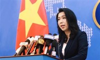 FM spokeswoman: China requested to withdraw all ships from Vietnam's EEZ