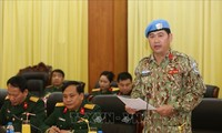 越南增派一名军官赴南苏丹执行联合国维和任务