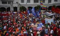 通过和平方式解决委内瑞拉目前的政治危机