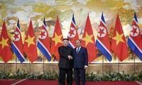 阮春福会见朝鲜最高领导人金正恩