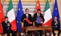 """中国—意大利共同推进""""一带一路""""建设"""
