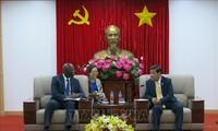 世界银行与平阳省就基础设施投资合作举行工作会谈