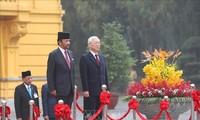 文莱达鲁萨兰国苏丹哈桑纳尔开始对越南进行国事访问