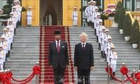越南和文莱加强各领域合作