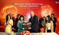 荷兰推动与越南胡志明市和其他地方的合作