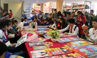 越南全国各地举行响应越南图书日的多项活动
