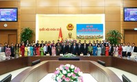 阮春福希望青年国会代表为国家发展做出贡献