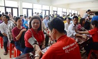 第七次红色之旅在岘港举行   1500名志愿者参加
