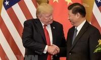 美国总统特朗普对美中贸易谈判态度不明朗