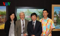 Vietnamese paintings and animated films shown in Paris