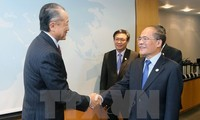 NA Chairman meets WB President in the US