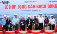 Construction of Bach Dang bridge completed