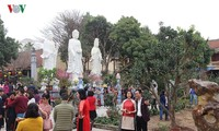 Lunar New Year visit to pagodas embraces Vietnam's Tet tradition