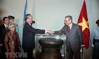 Cambodian, US media highlights former President's merits