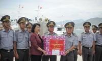 Vice President visits Navy Zone 4