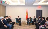 Premier vietnamita apoya una mayor cooperación entre empresas nacionales y Nasdaq