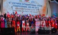 Concurso Internacional de Coros da inicio al VI Festival de Patrimonios de Quang Nam