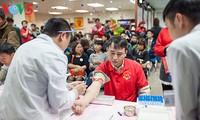 Continúan actividades en saludo al Día Mundial del Donante de Sangre
