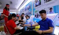 Esperan obtener 45.000 unidades de sangre en campaña de donación en Vietnam