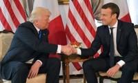 Presidentes estadounidense y francés debaten la coordinación de acción en Siria e Iraq