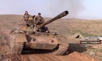 Tropas sirias toman el control de 2.000 kilómetros cuadrados de desierto en la región central