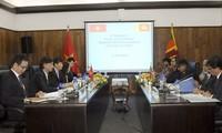 Vietnam y Sri Lanka realizan tercera consulta política
