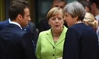 Líderes británico, francés y alemán debaten sobre el problema nuclear de Irán