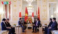 Prosiguen actividades del presidente vietnamita en su visita a Japón
