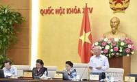 Continúa jornada de trabajo del Comité Permanente del Parlamento de Vietnam
