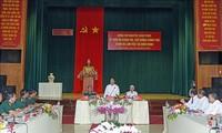 Premier vietnamita visita el Cuerpo Militar 16 en Binh Phuoc
