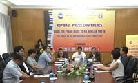Celebran la IV edición del Concurso Internacional de Piano de Hanói