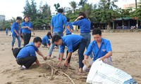 """Jóvenes vietnamitas responden a la Campaña """"A Limpiar el Mundo"""" 2018"""