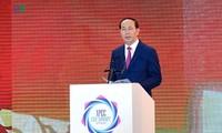 Destacan aportes del presidente vietnamita a las actividades exteriores del país