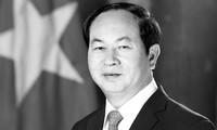 Más condolencias a Vietnam por la muerte de su presidente