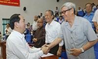 Votantes vietnamitas aprecian papel del presidente Tran Dai Quang como representante del pueblo