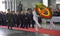 Comienzan actos fúnebres en homenaje al presidente vietnamita Tran Dai Quang