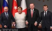 Rusia, Francia, Alemania y Turquía emiten una declaración conjunta sobre Siria