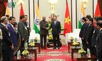 Presidente indio visita Da Nang