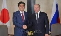 Rusia y Japón aspiran a firmar un tratado de paz