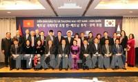 Titular parlamentaria vietnamita se reúne con líderes de algunas corporaciones surcoreanas
