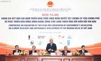 Vietnam aborda gestión de recursos hídricos, inundaciones e intrusión salina en delta del río Mekong