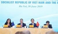Vietnam y UE satisfechos con firma de acuerdo de libre comercio