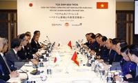 Premier vietnamita dialoga con líderes de empresas japonesas