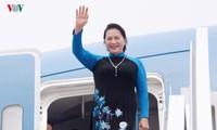 Líder parlamentaria vietnamita concluye exitosamente visita a China